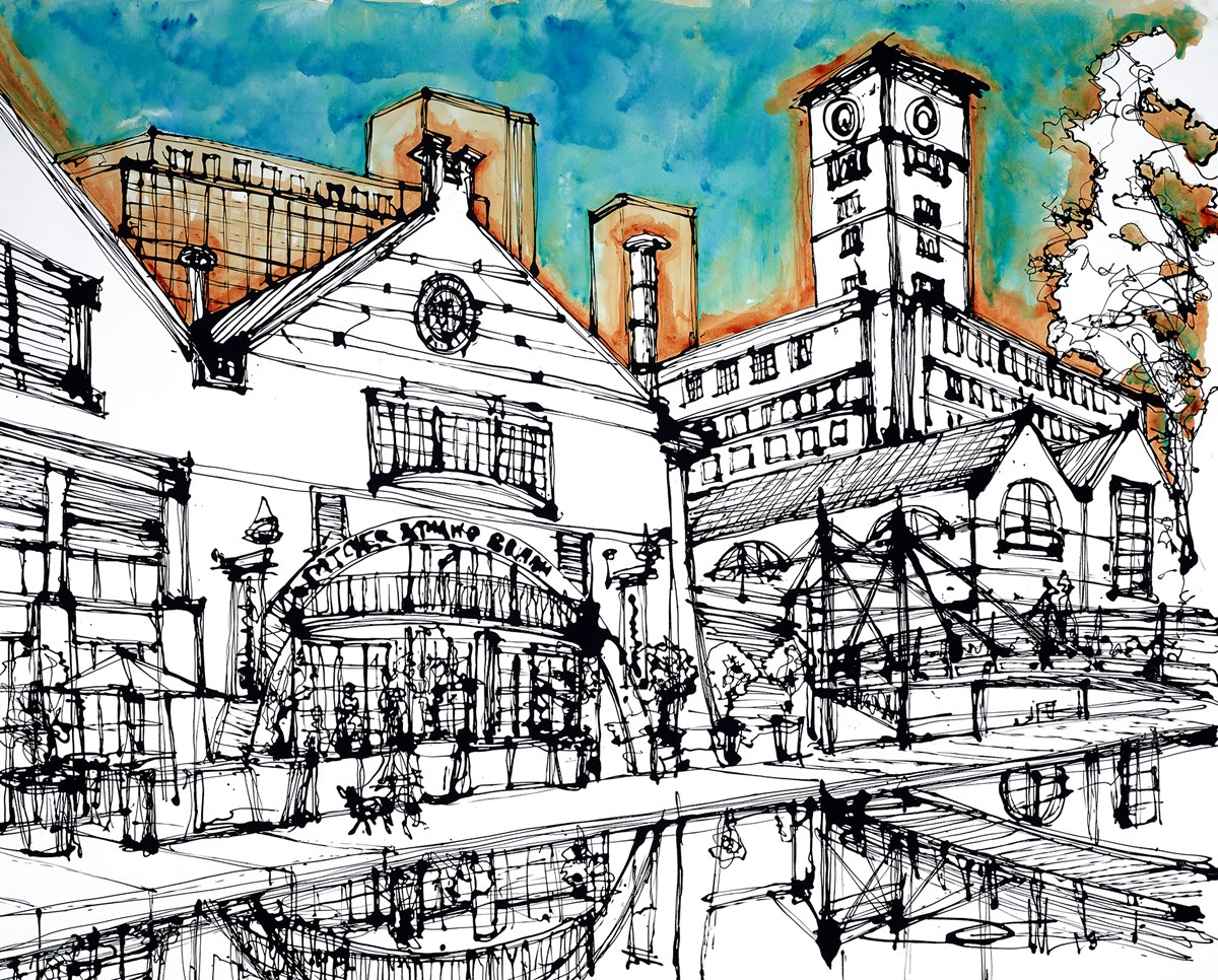 Pitcher and Piano at Brindley Place